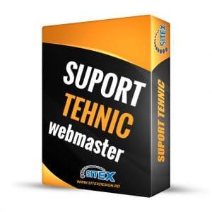 Suport tehnic webmaster