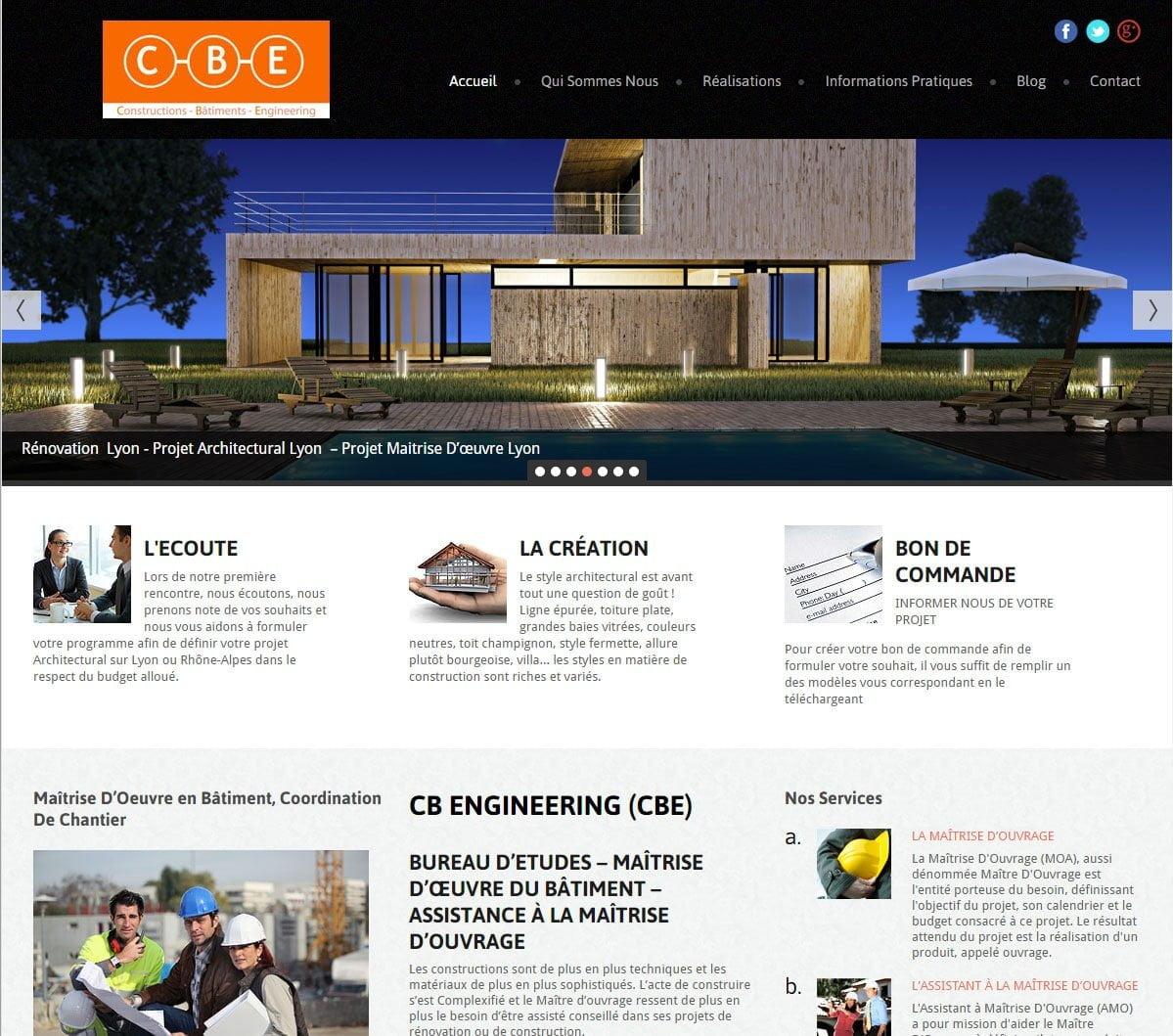 Site de prezentare firma de constructii