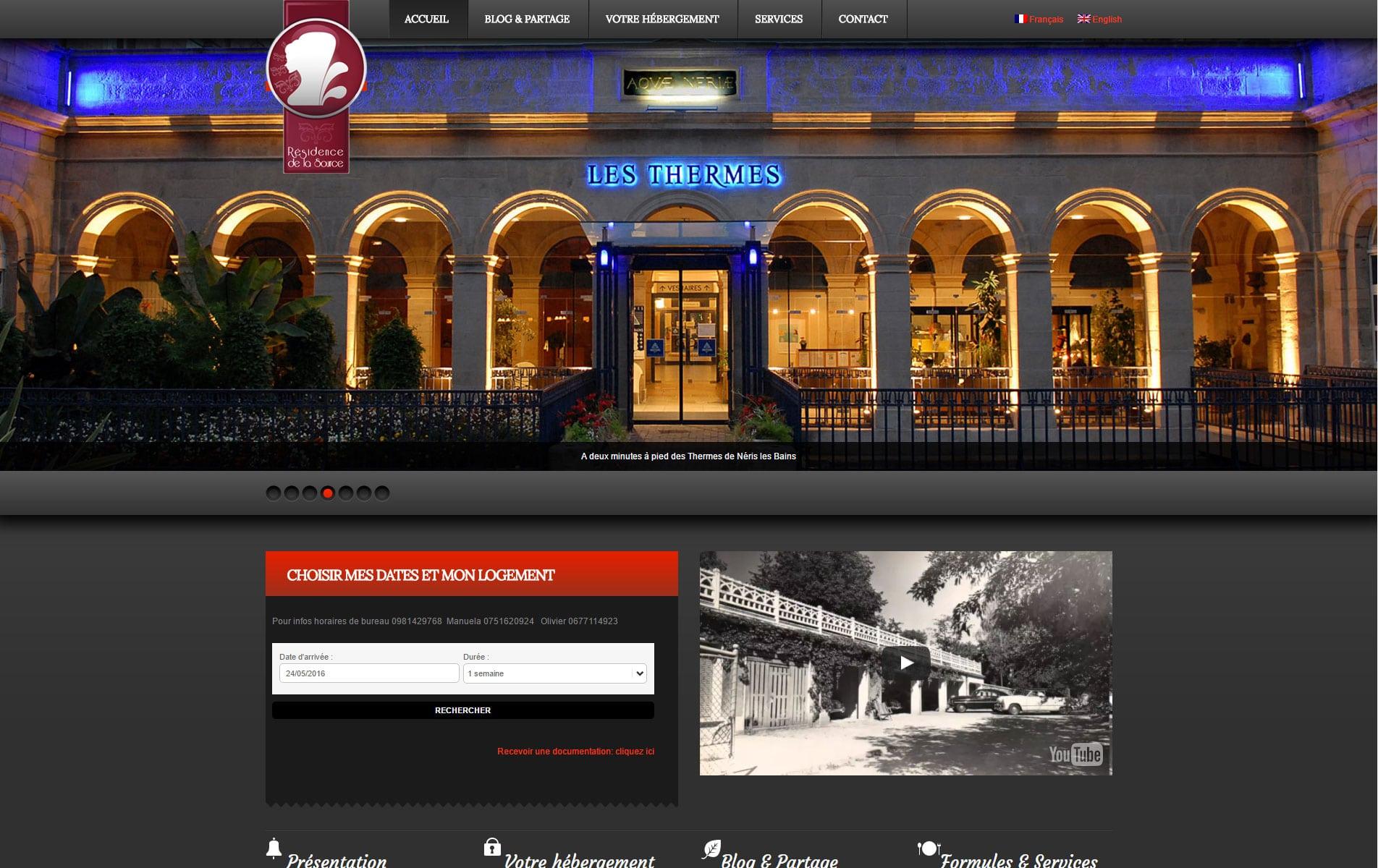 Site de prezentare pentru turism