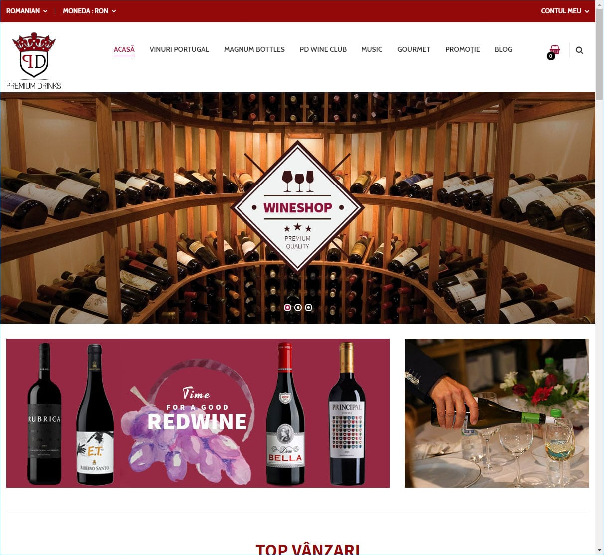 magazin online vinuri