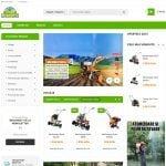 Site web pentru prezentare si vanzare de utilaje si pesticide