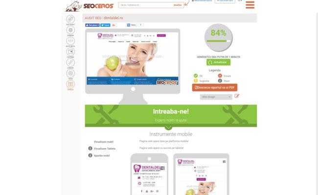 Site web cabinet stomatologic