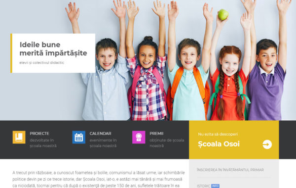 Școala Gimnazială Osoi, Comarna – Iaşi