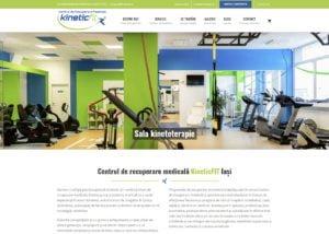 Centrul de recuperare medicală KineticFIT din Iași