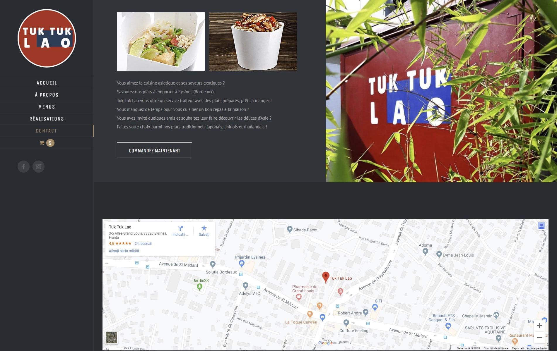 Tuk Tuk LAO - restaurant