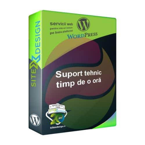 Suport tehnic (oră) Wordpress