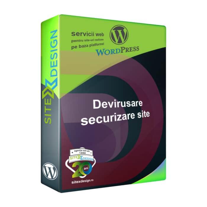 Devirusare si securizare site Wordpress