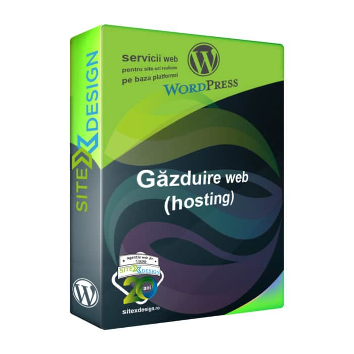 Găzduire web (hosting) site Wordpress