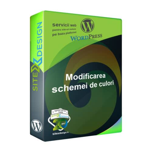 Modificare schemă de culori Wordpress