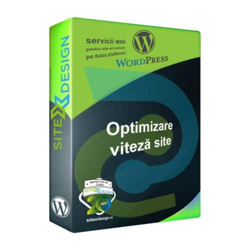 Optimizare viteză site Wordpress